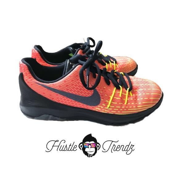 38deb56a504 Kids Nike KD 8 Sunrise Orange Sneakers. M 5bfbe0b9c89e1d065fc2a289
